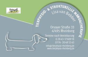 Tierphysio und strukturelle Manualtherapie für Hunde